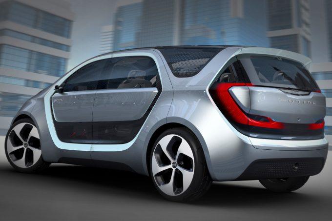 Chrysler Portal Concept Exterior