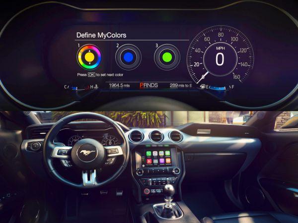 2018 Ford Mustang Interior