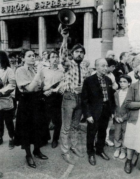 Startpozíció: környezetvédő tüntetés a Mártírok útján. És nem volt egészen eredménytelen!