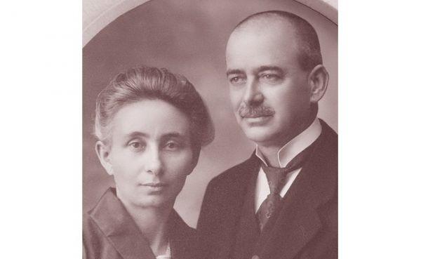 Idősebb Varga Gyula és neje