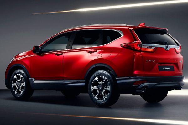 Akár 7 Személyes Hibrid SUV Lehet Az új Honda CR-V