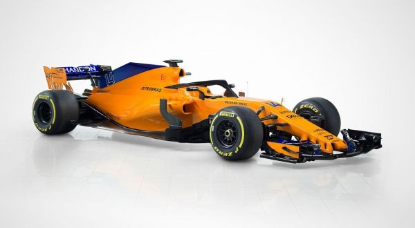 A McLaren új konstrukciója, az MCL33 (Fotó: McLaren)