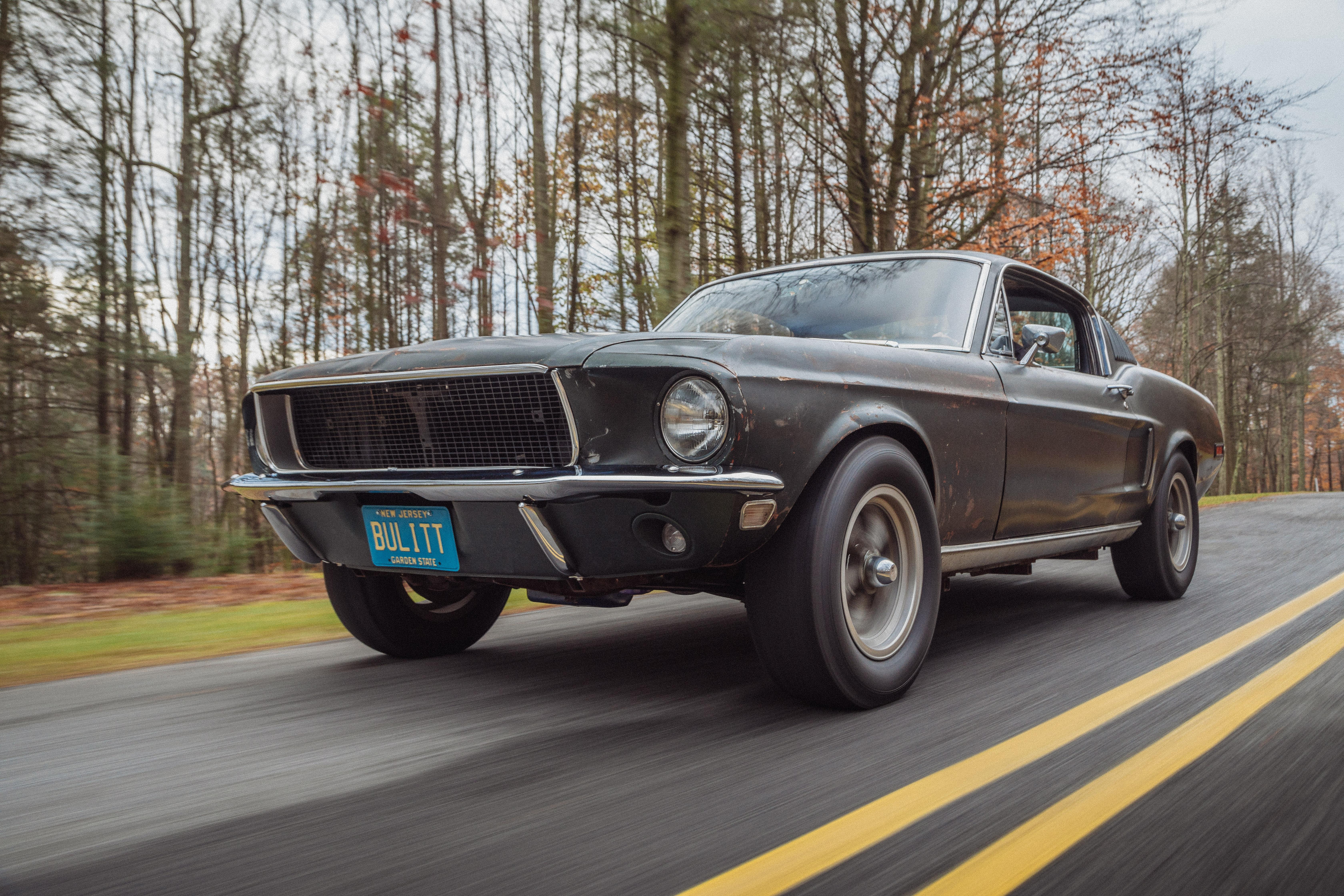 50 év után előkerült a világ egyik leghíresebb Ford Mustangja