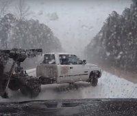 baleset hóvihar pickup