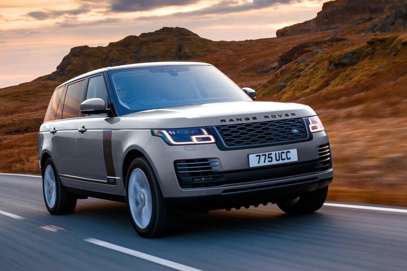 A Range Rover Is Megkapja A Lágy-hibrid Soros Hathengerest