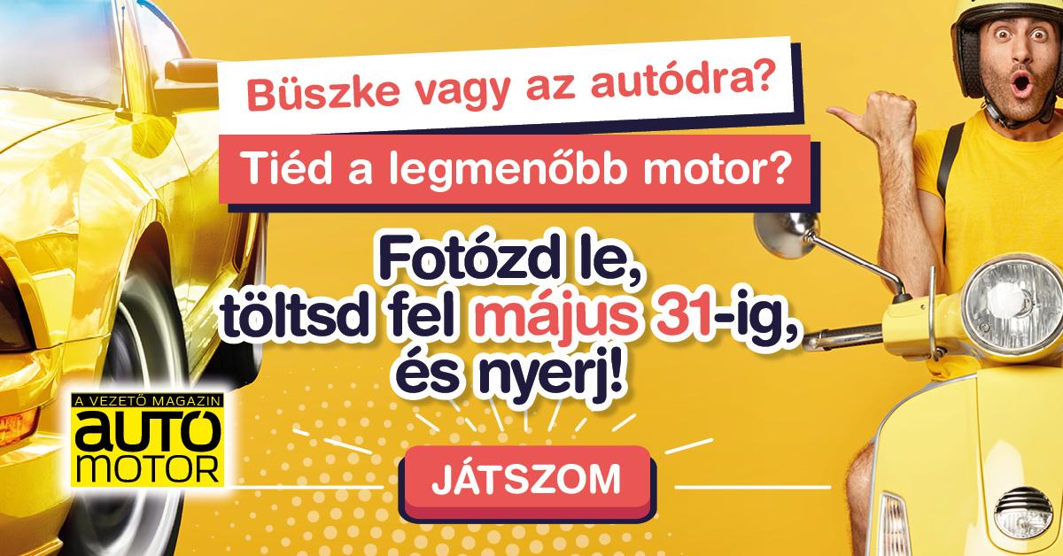 Mutasd az autód! Mutasd a motorod!